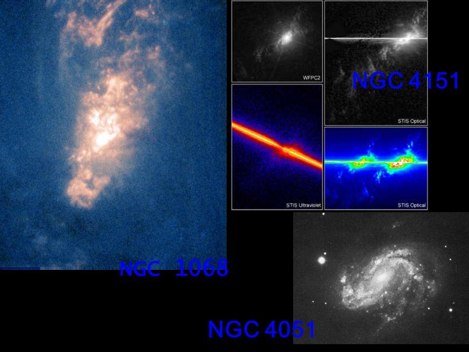 NGC 4151 NGC 1068 NGC 4051