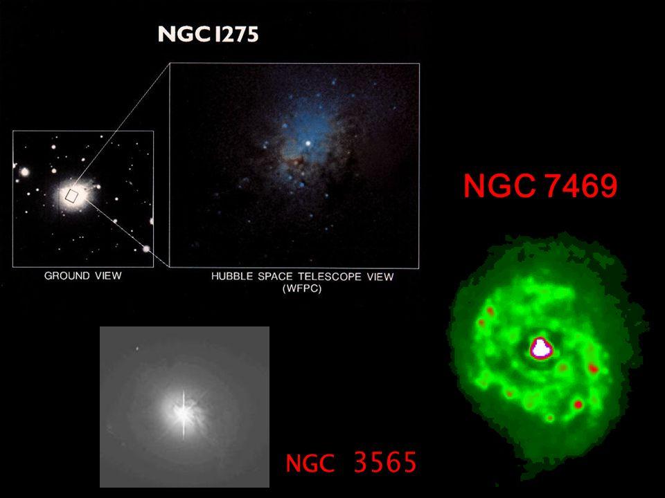 NGC 7469 NGC 3565