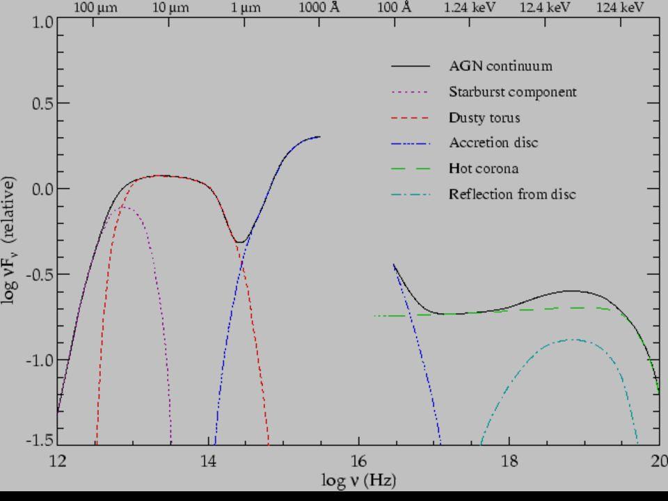 inserire uno spettro broad-band con le componenti