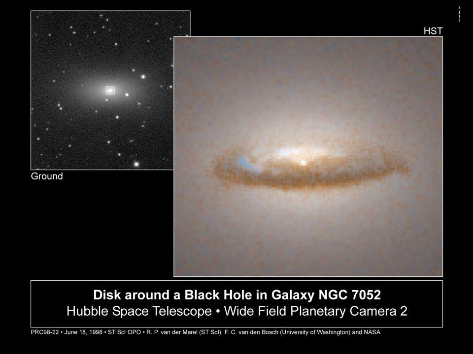 disk around NGC 7052