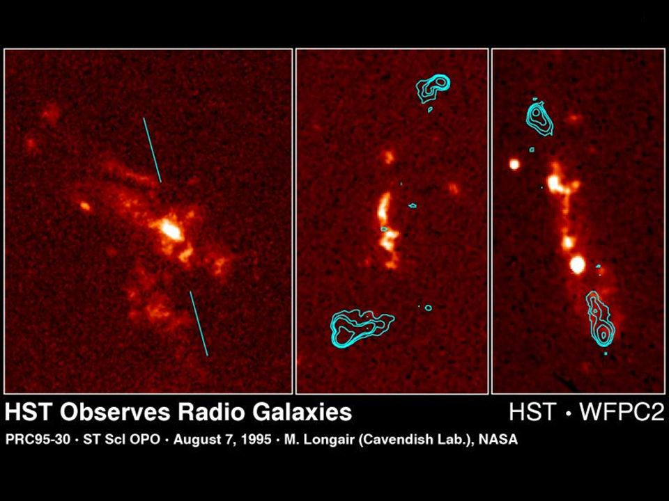 Credit: M. Longair (Cambridge University, England), NASA, and NRAO
