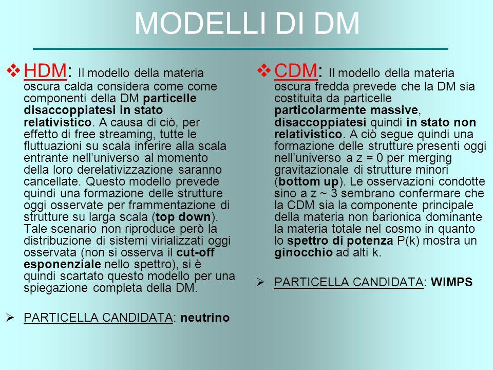 MODELLI DI DM
