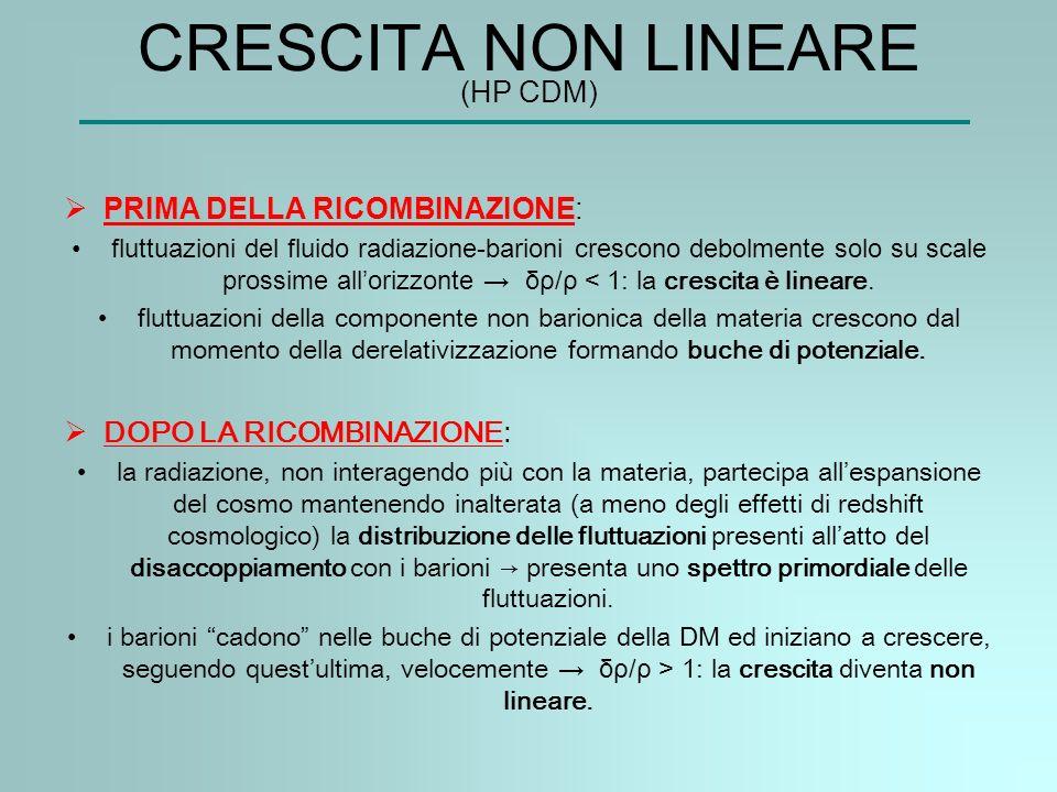 CRESCITA NON LINEARE (HP CDM)