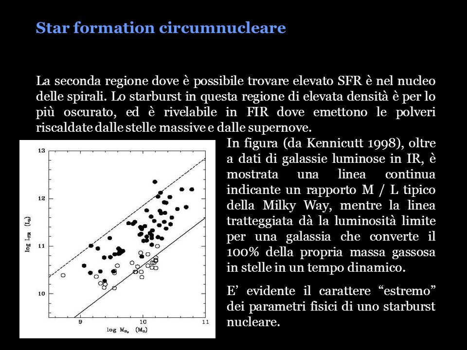 Star formation circumnucleare