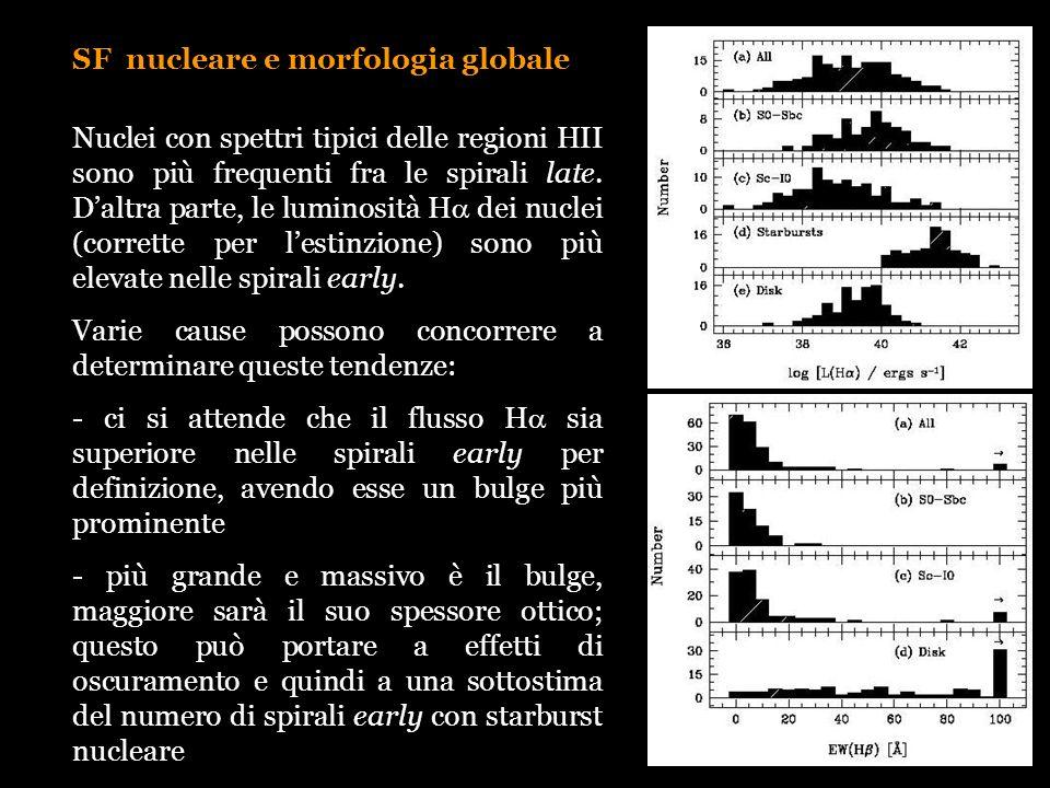 SF nucleare e morfologia globale