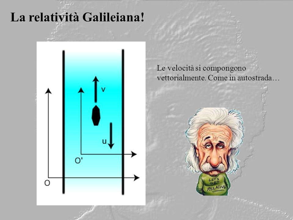 La relatività Galileiana!