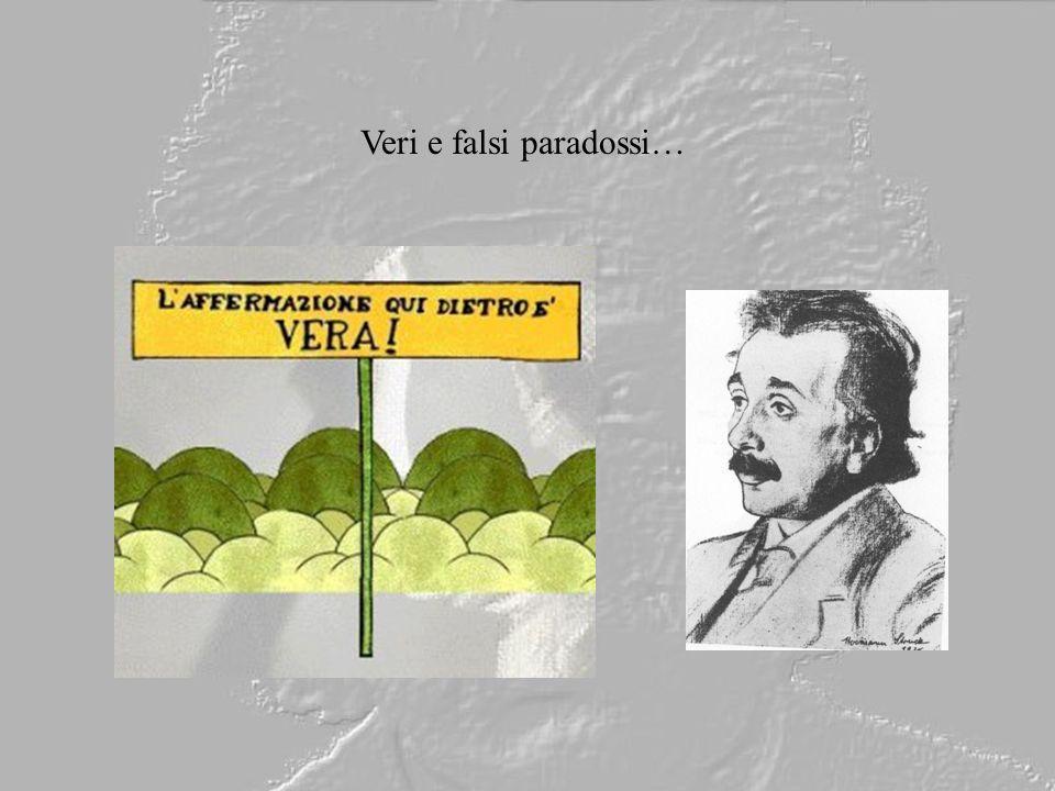 Veri e falsi paradossi…
