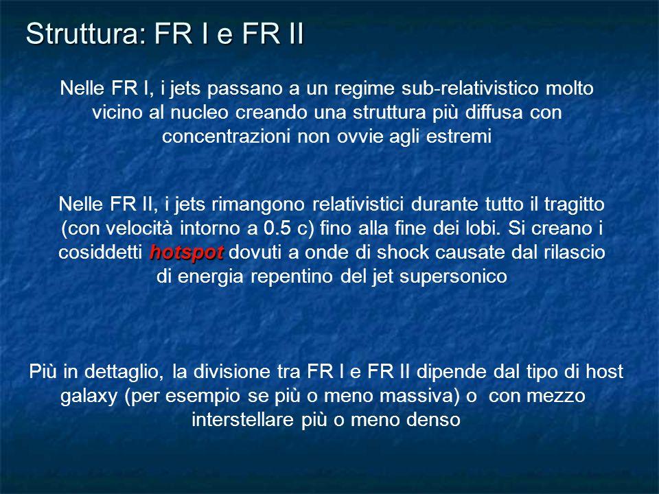 Struttura: FR I e FR II