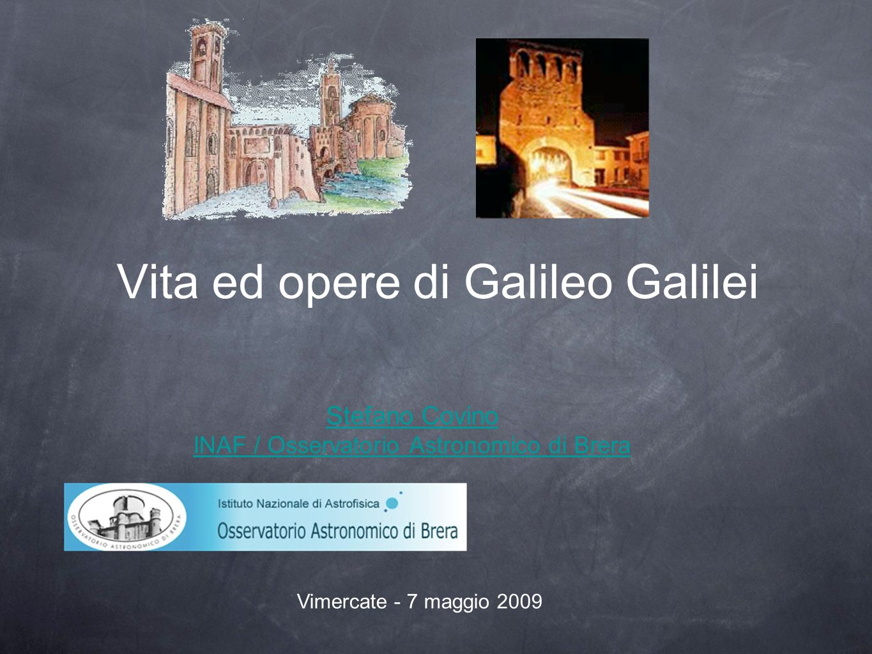Vita ed opere di Galileo Galilei