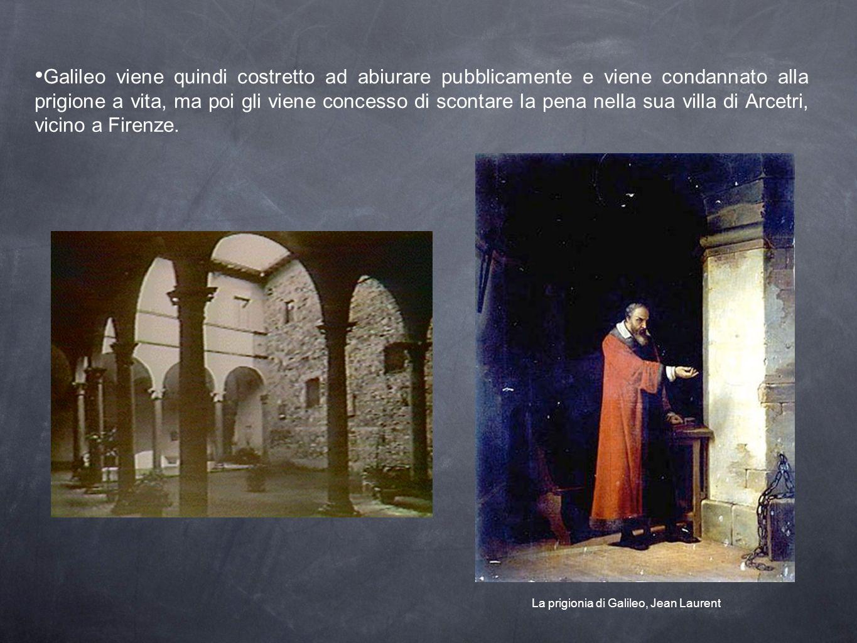 La prigionia di Galileo, Jean Laurent