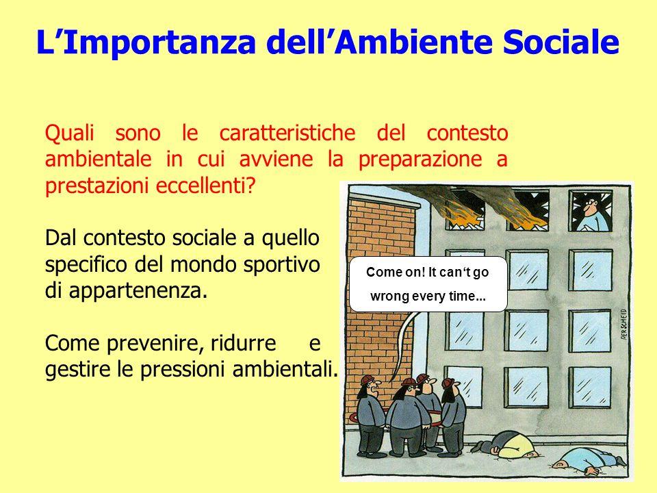 L'Importanza dell'Ambiente Sociale