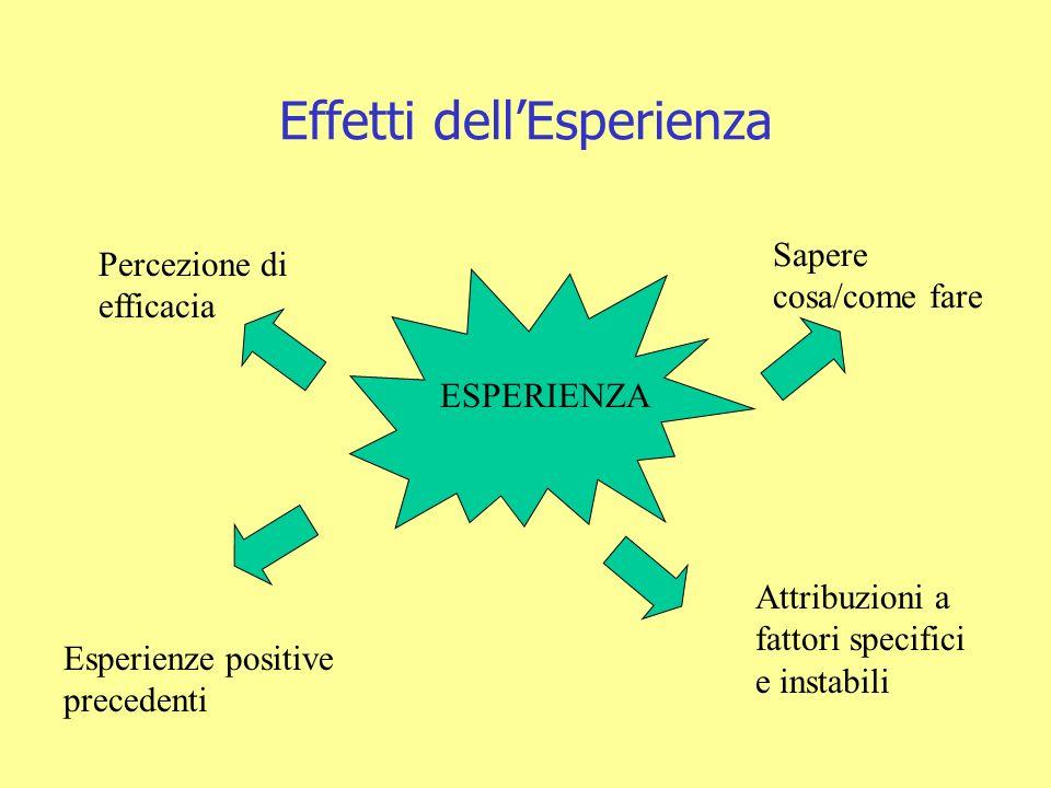Effetti dell'Esperienza