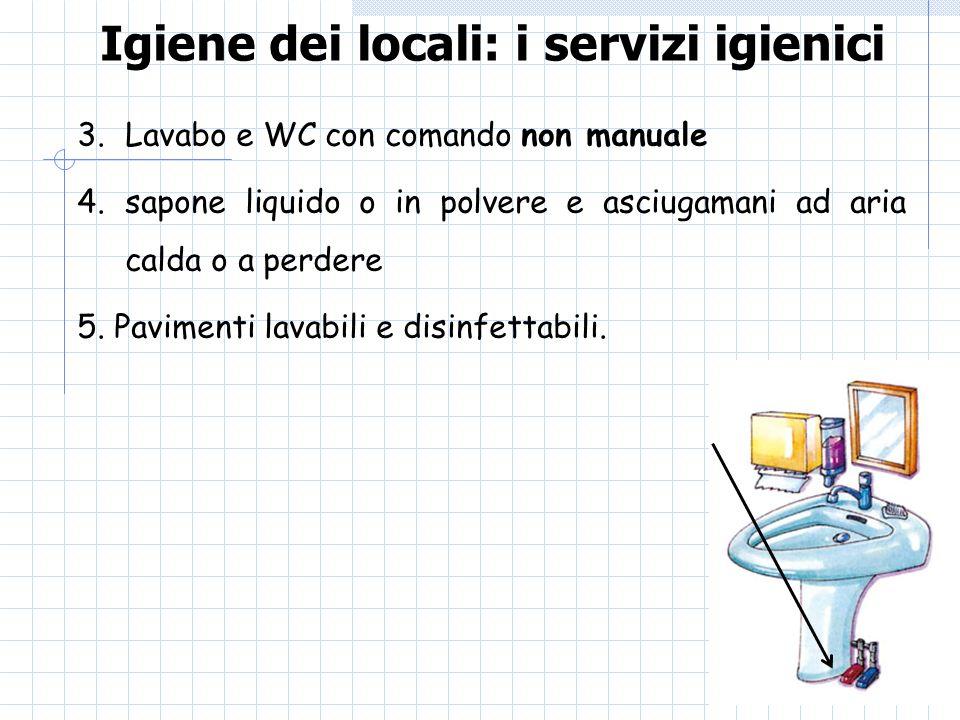 Igiene dei locali: i servizi igienici