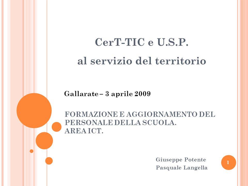 FORMAZIONE E AGGIORNAMENTO DEL PERSONALE DELLA SCUOLA. AREA ICT.