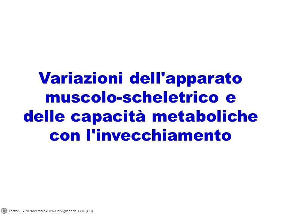 Variazioni dell apparato muscolo-scheletrico e