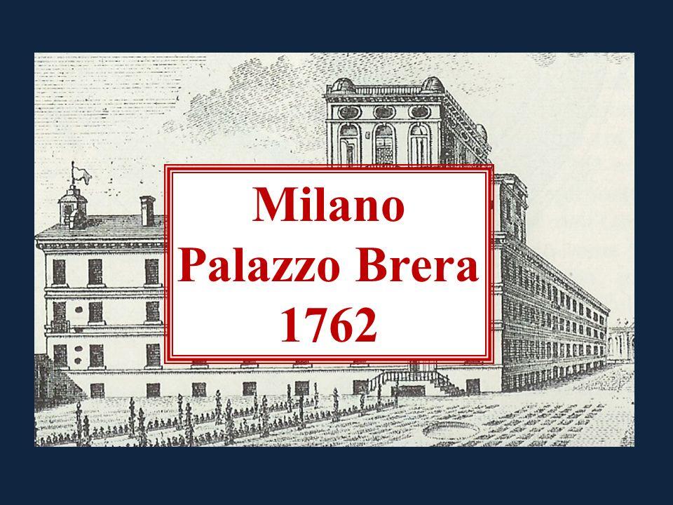 Milano Palazzo Brera 1762