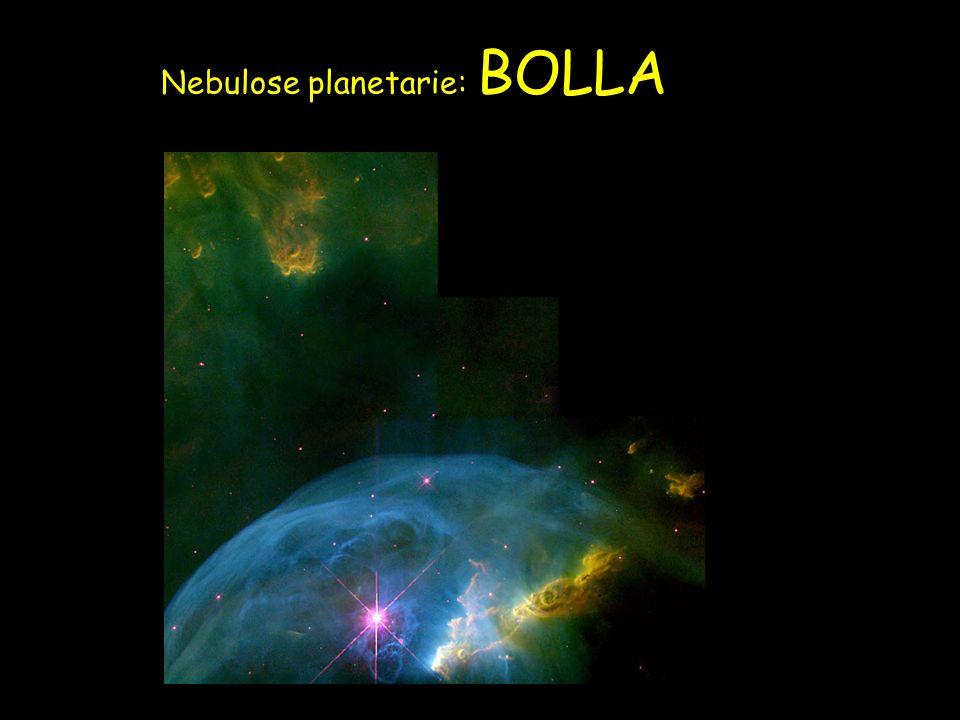 Nebulose planetarie: BOLLA