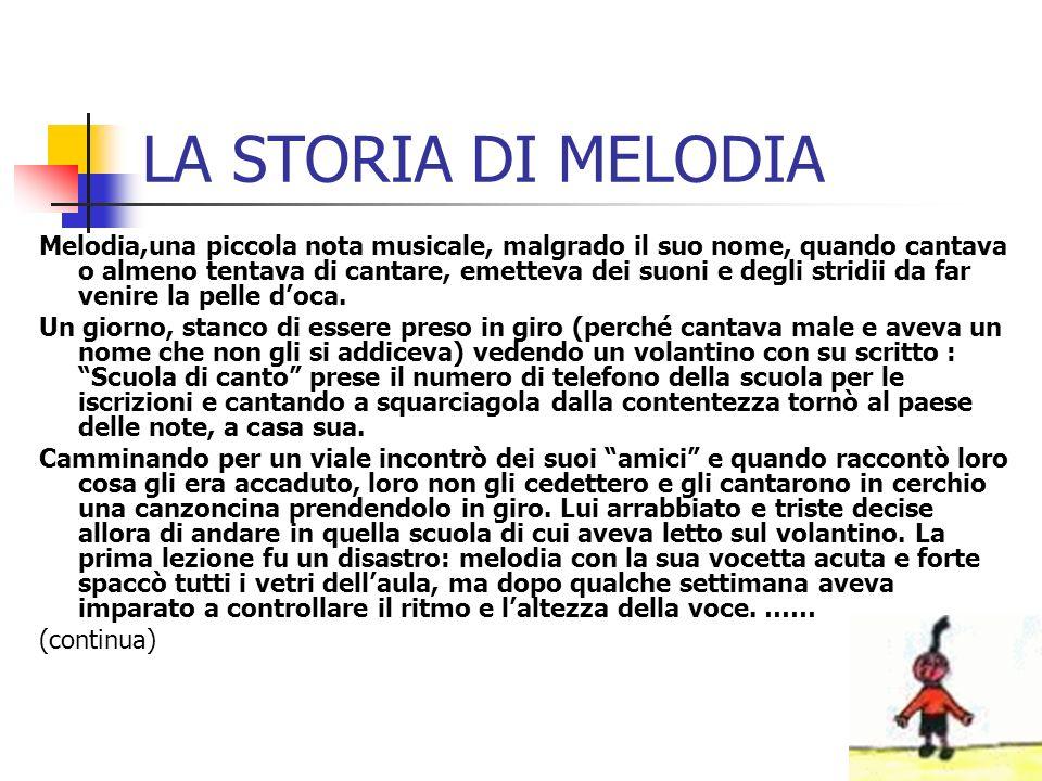 LA STORIA DI MELODIA
