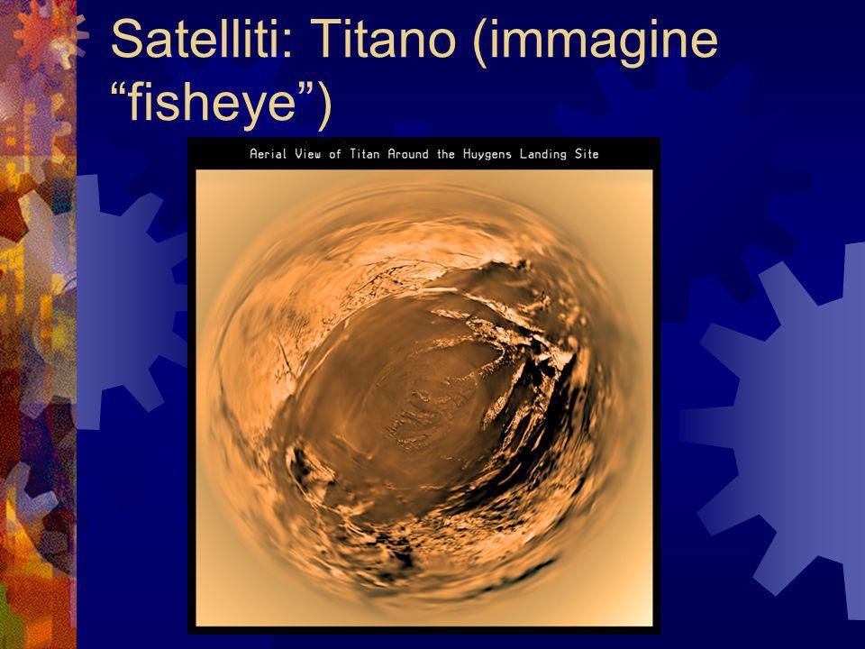 Satelliti: Titano (immagine fisheye )‏