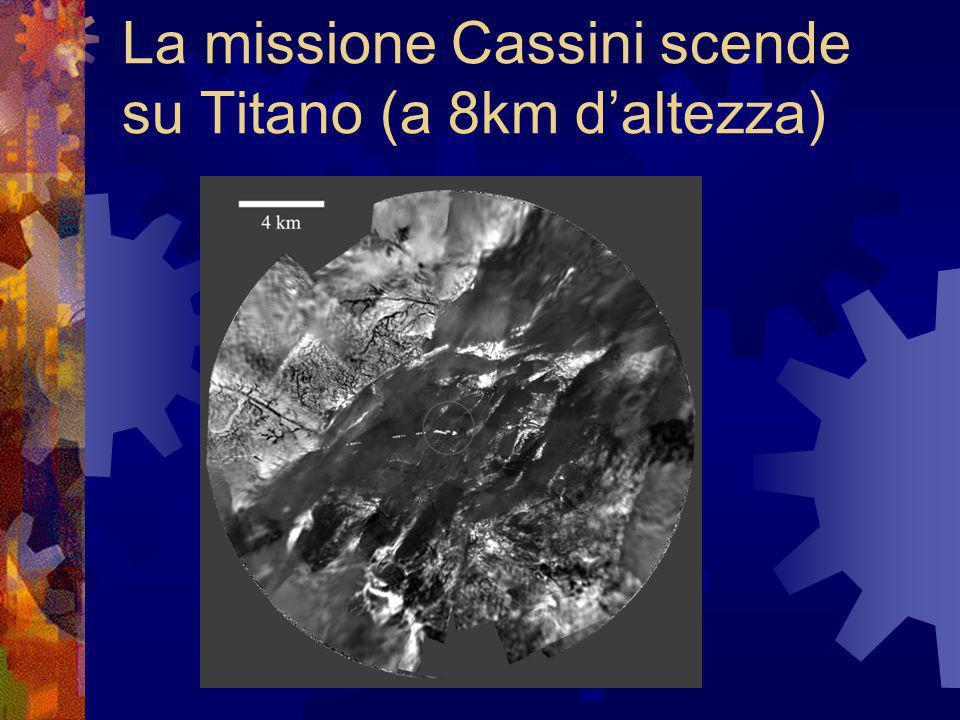 La missione Cassini scende su Titano (a 8km d'altezza)