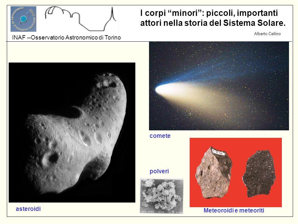 comete polveri asteroidi Meteoroidi e meteoriti