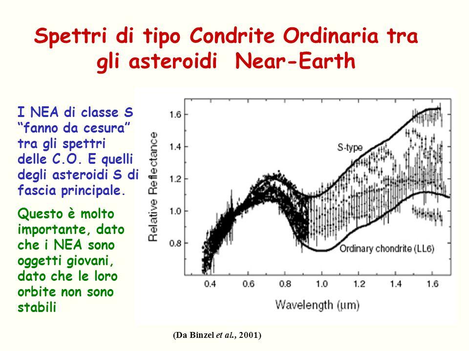 Spettri di tipo Condrite Ordinaria tra gli asteroidi Near-Earth