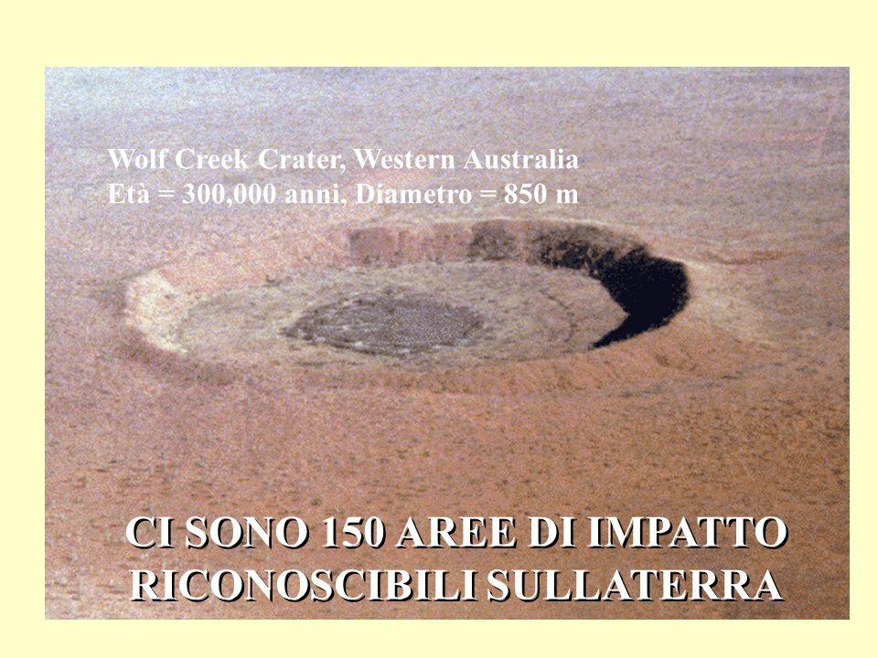 Wolf Creek Crater, Western Australia RICONOSCIBILI SULLATERRA