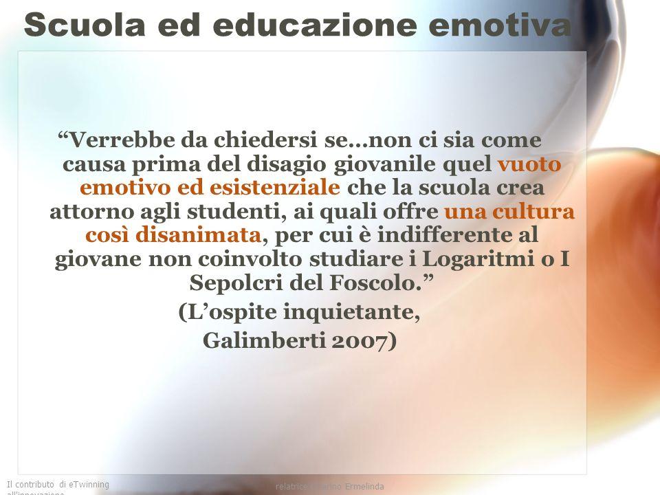 Scuola ed educazione emotiva