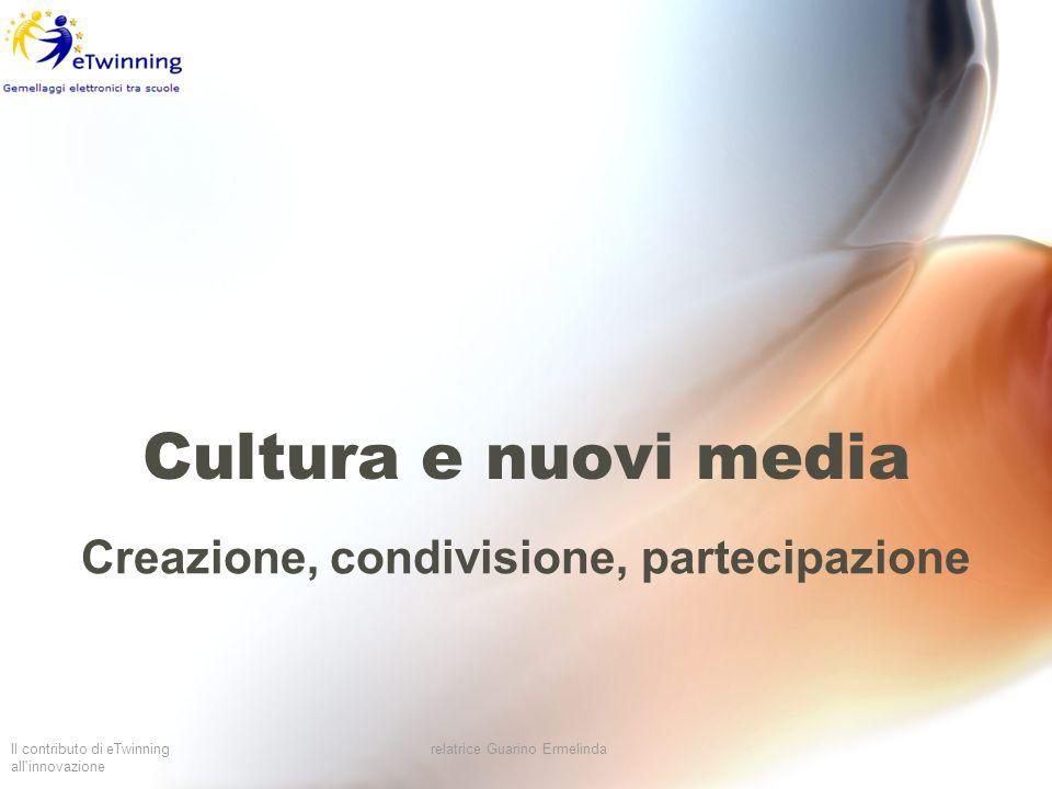Creazione, condivisione, partecipazione