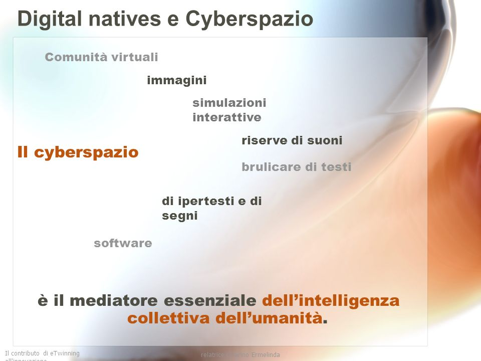 Digital natives e Cyberspazio