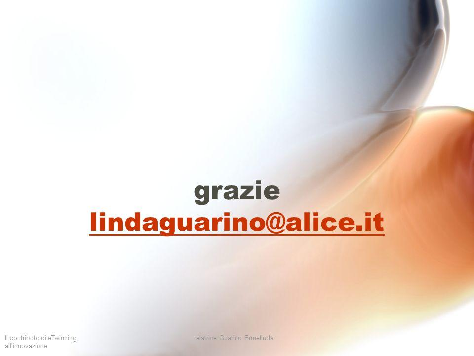 grazie lindaguarino@alice.it
