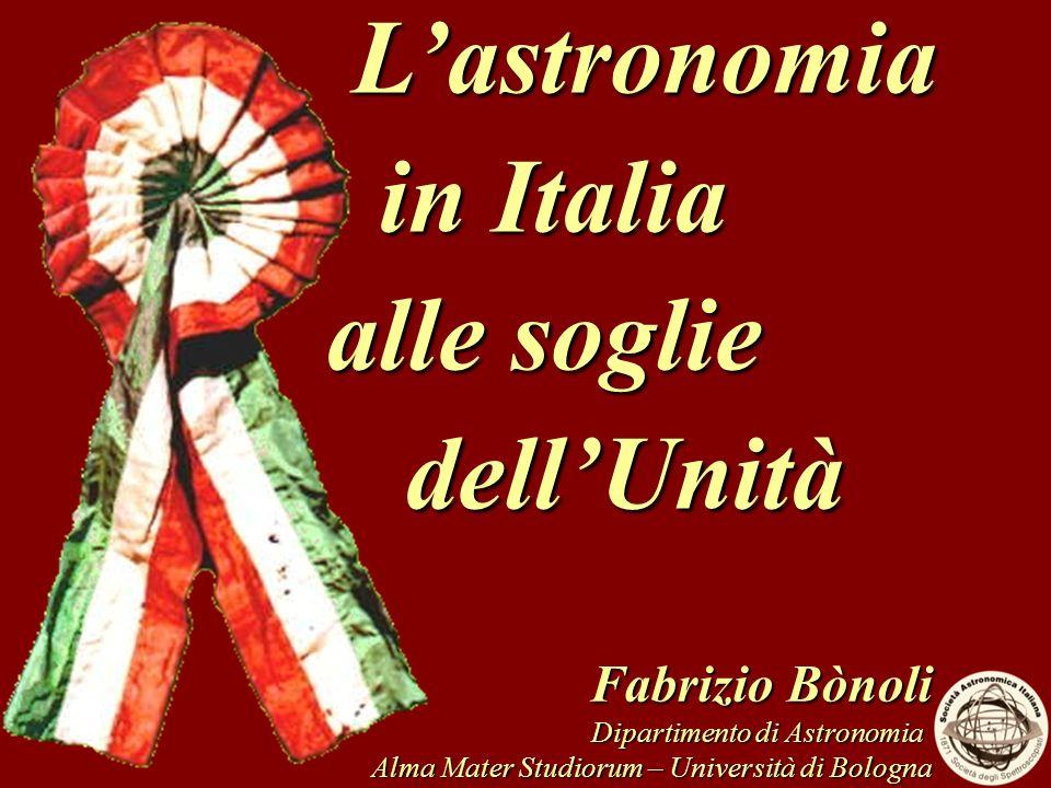 L'astronomia in Italia alle soglie dell'Unità