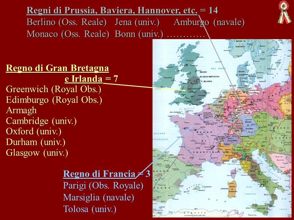 Regni di Prussia, Baviera, Hannover, etc. = 14. Berlino (Oss. Reale)