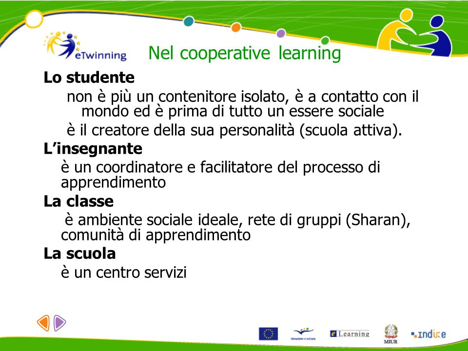 Nel cooperative learning