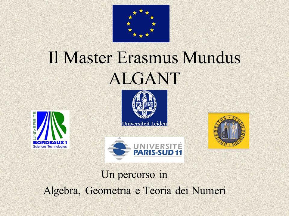 Il Master Erasmus Mundus ALGANT