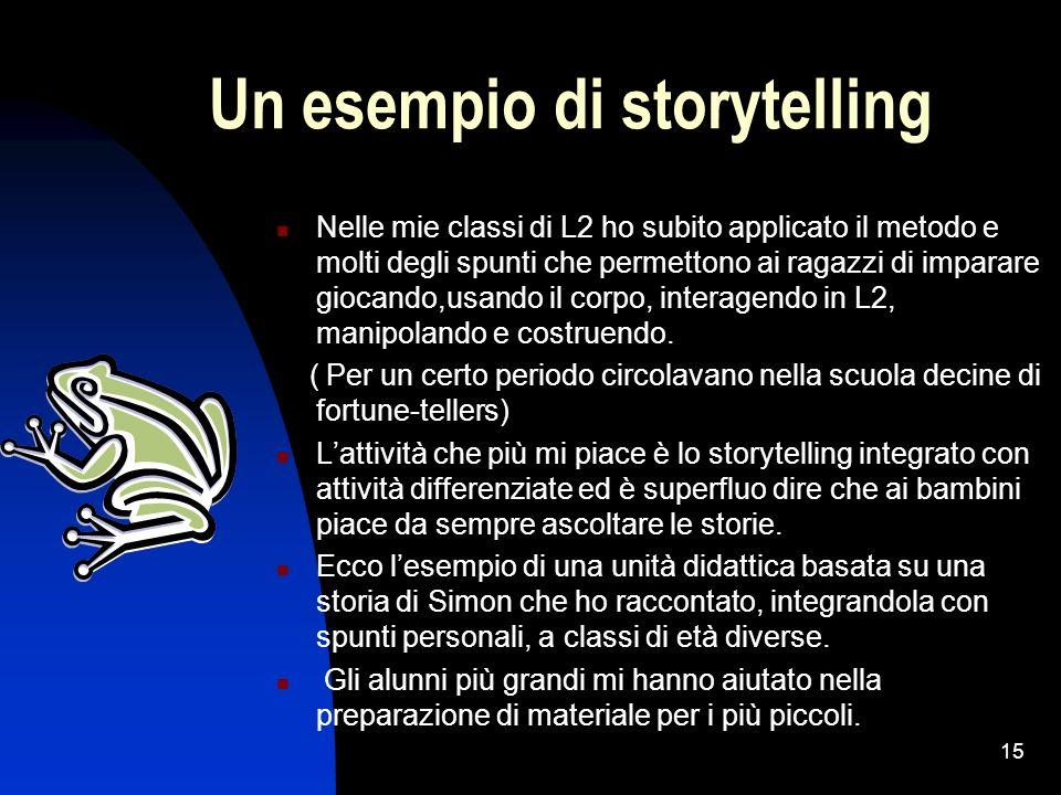 Un esempio di storytelling