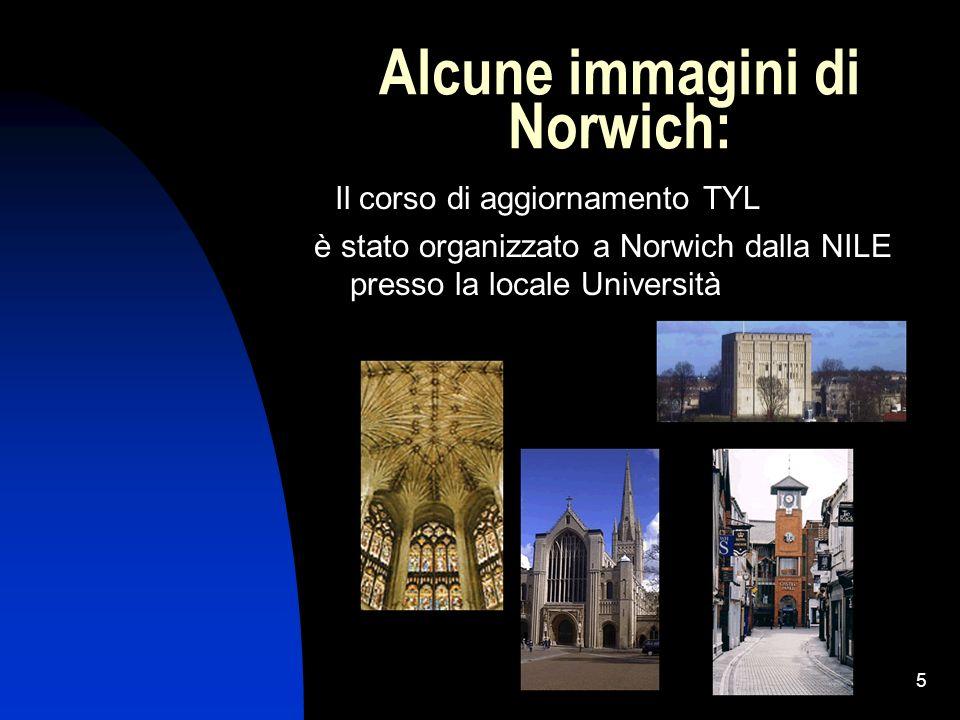 Alcune immagini di Norwich: