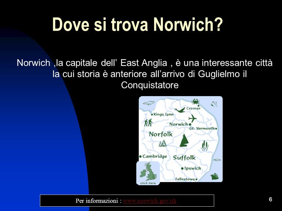 Per informazioni : www.norwich.gov.uk