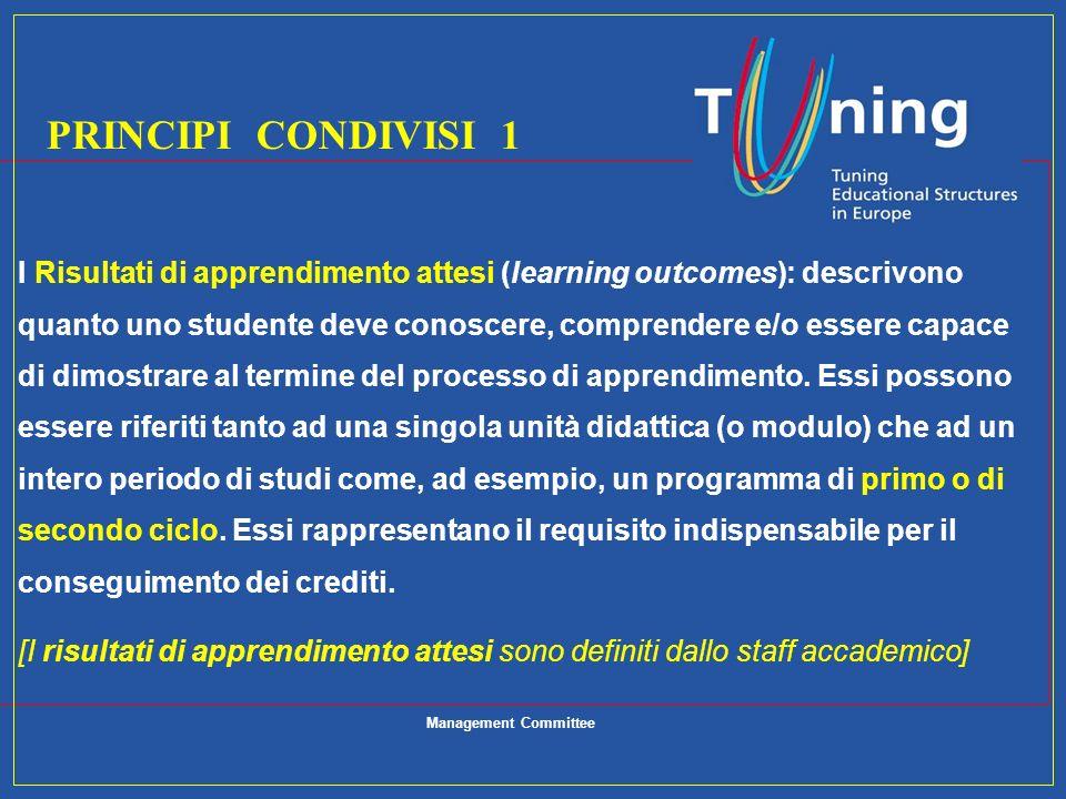 PRINCIPI CONDIVISI 1