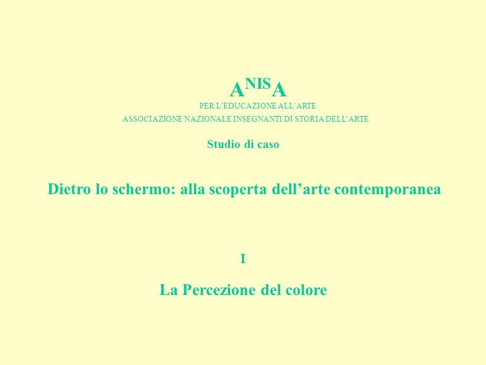 ANISA La Percezione del colore I Studio di caso