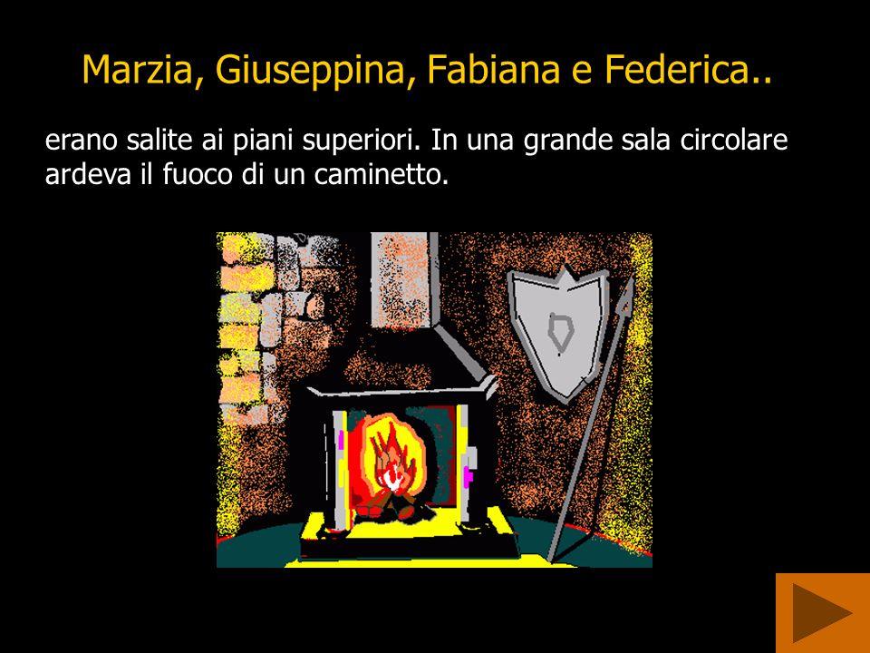 Marzia, Giuseppina, Fabiana e Federica..