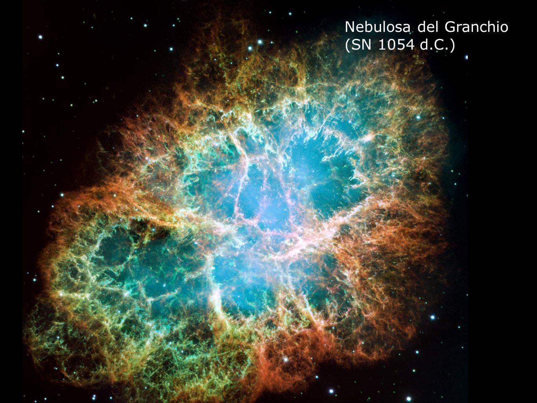 Nebulosa del Granchio (SN 1054 d.C.) 73