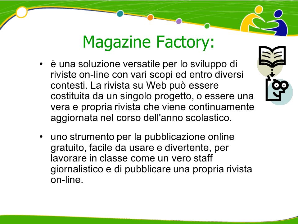 Magazine Factory: