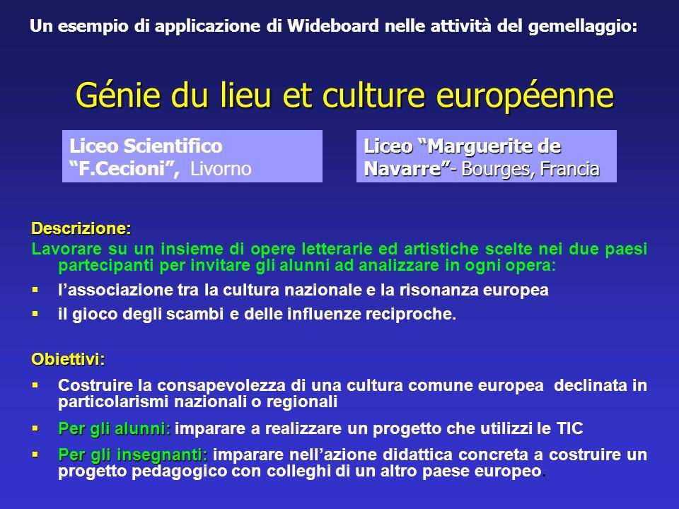 Génie du lieu et culture européenne