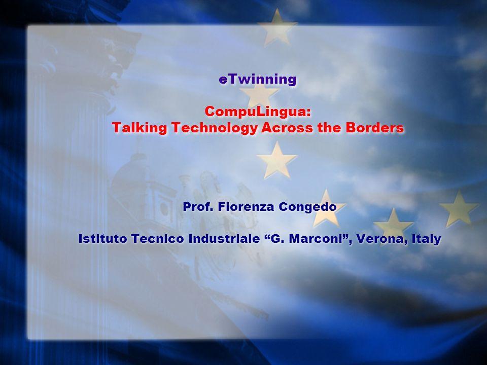 eTwinning CompuLingua: Talking Technology Across the Borders