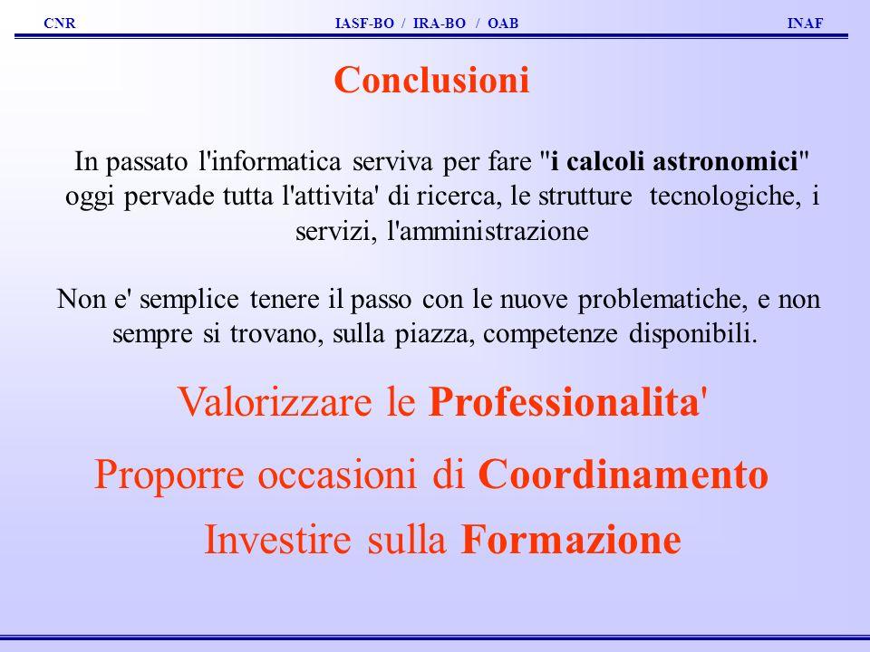 Valorizzare le Professionalita