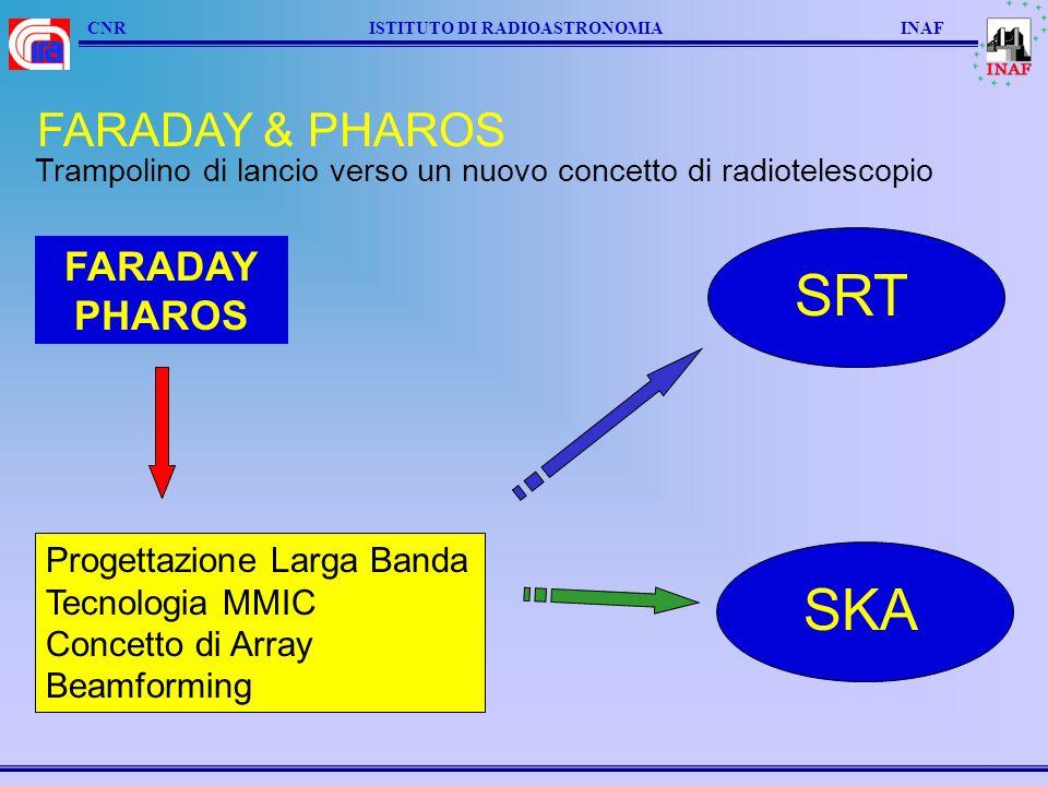 SRT SKA FARADAY & PHAROS FARADAY PHAROS Progettazione Larga Banda