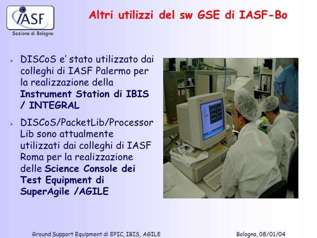 Altri utilizzi del sw GSE di IASF-Bo