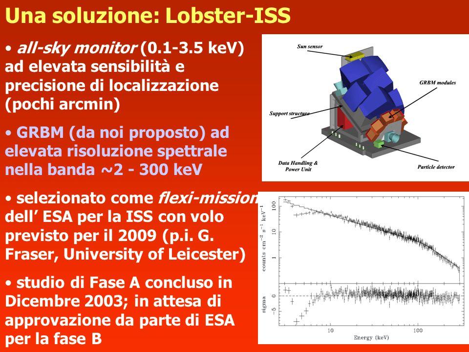 Una soluzione: Lobster-ISS