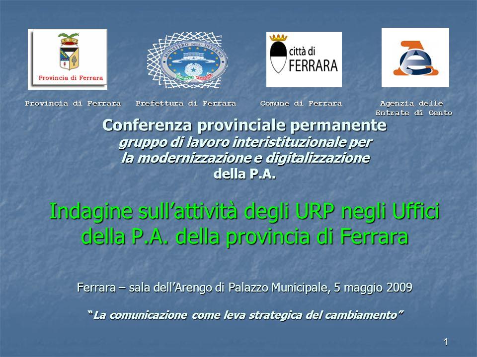 PREFETTURA - U.T.G. DI FERRARA